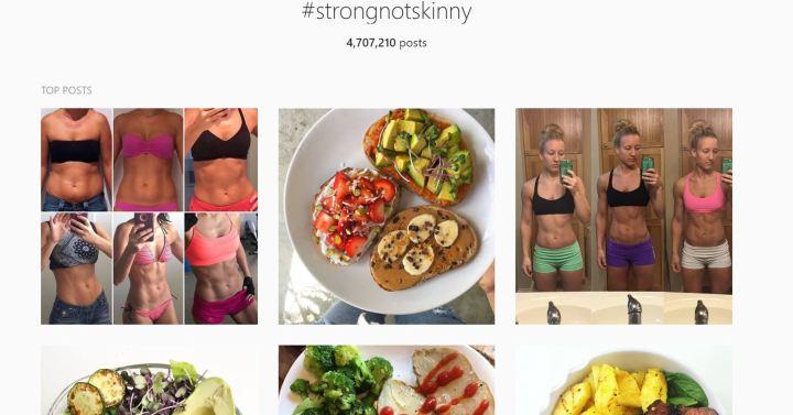 #strongnotskinny
